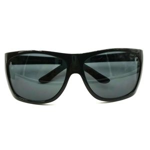 Polo Ralph Lauren Black Oversized Oval Sunglasses